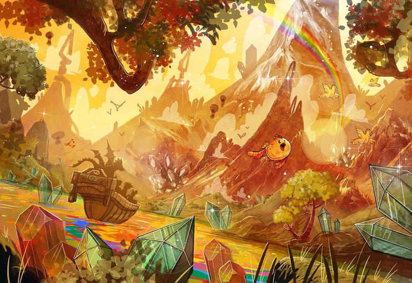 Children-Book-Art-mystic river-Sunset.jp