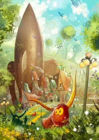 Children-Book-Art-Rocket-Town-Spring.jpg