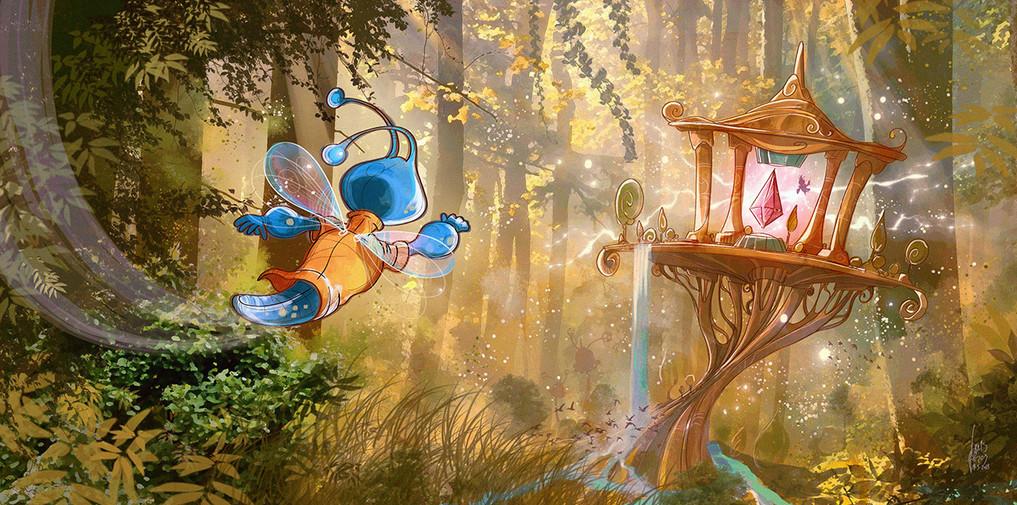 Children-Book-Art-Gambys-Fairy-Forest.jp
