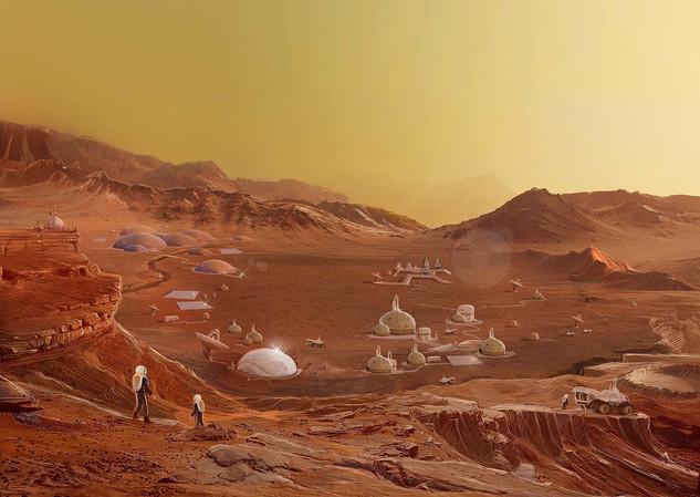 CHAPTER 13 - MARS VISTA - YELLOW SKY - 2