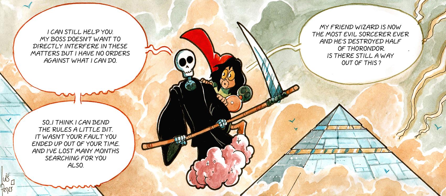 Once Upon a Time on Mars - webcomics, fantasy comics - download