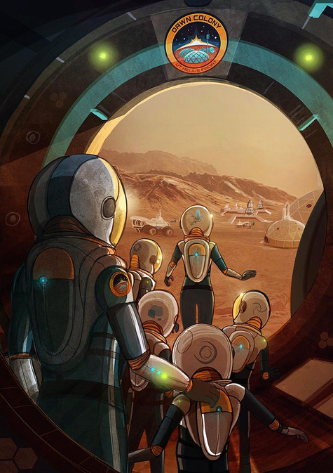 CHAPTER 9 - PEERING OUT of AIRLOCK - 200