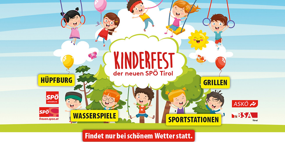 Kinderfest der neuen SPÖ Tirol