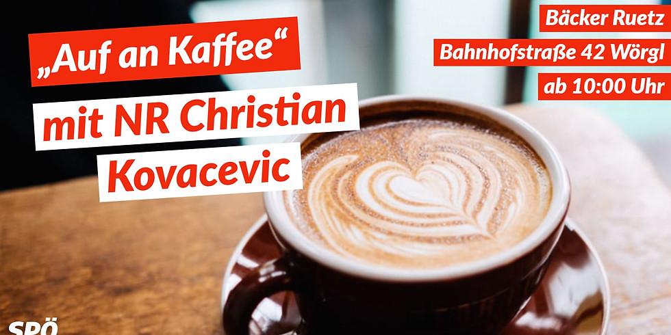 Auf einen Kaffee mit Christian Kovacevic