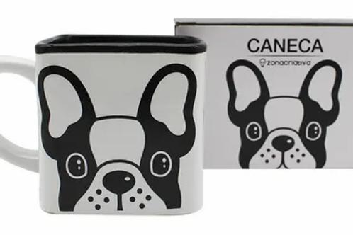 Caneca Cubo - Bulldog
