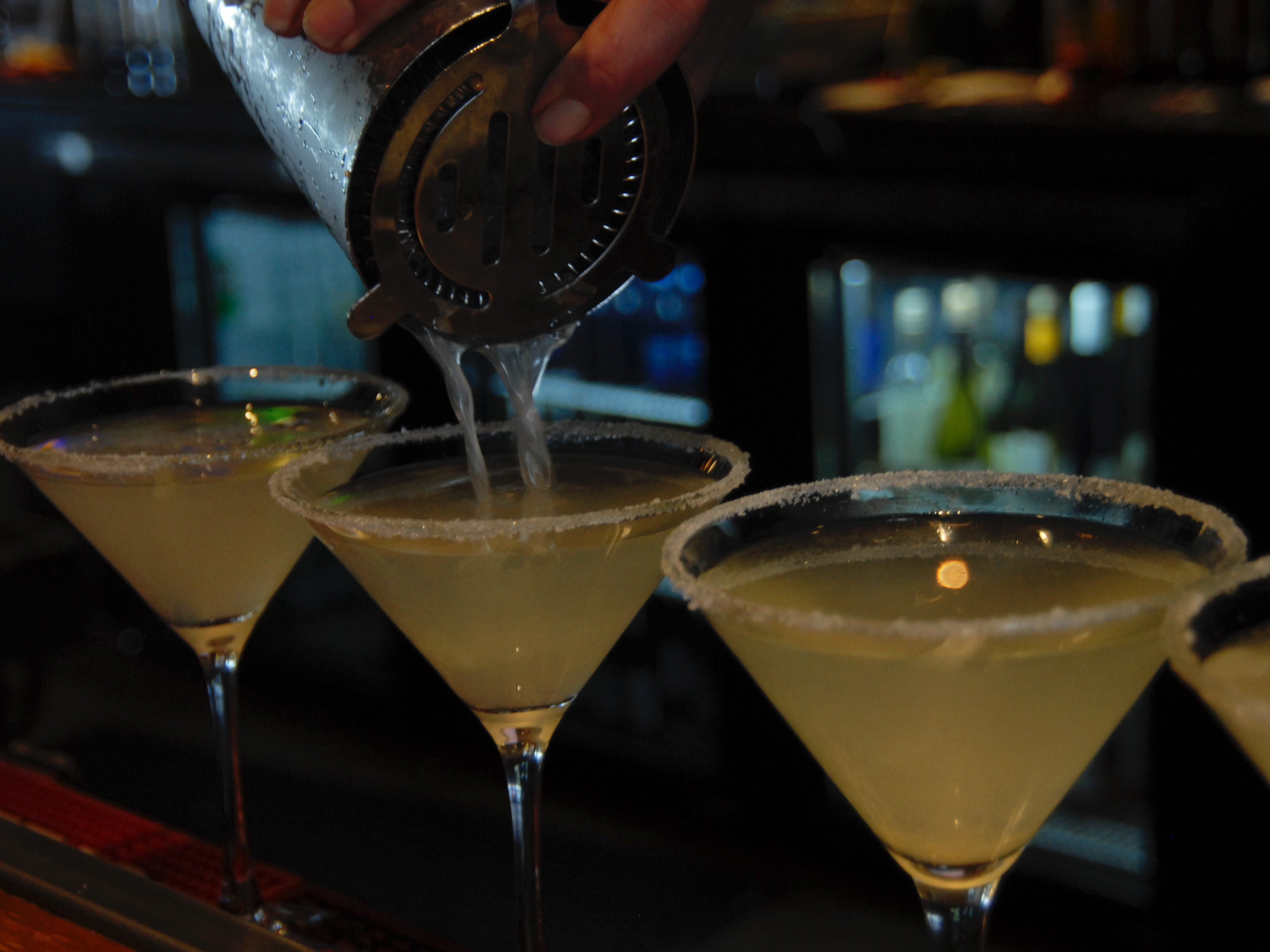 Lemon Drops and craft cocktails