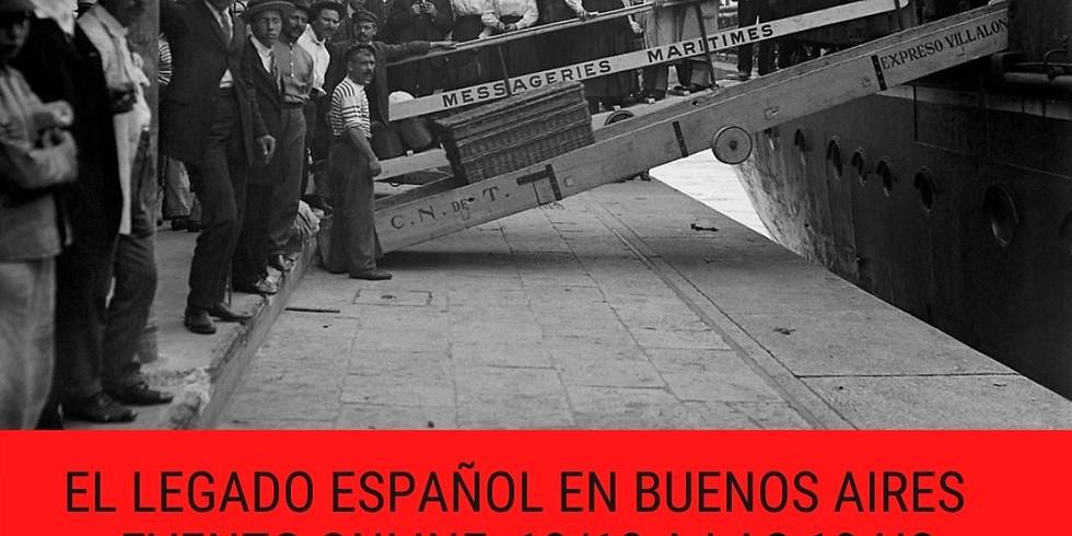 El legado español en Buenos Aires evento online