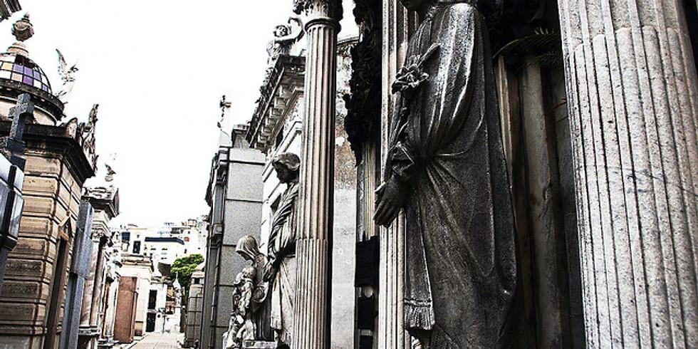 Circuito a pie cementerio recoleta
