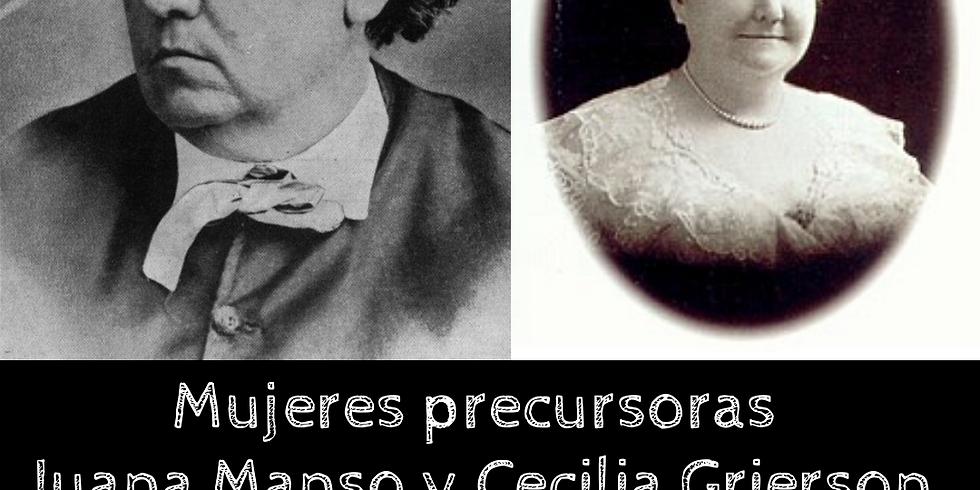 Mujeres que inspiran Juana Manso y Cecilia Grierson
