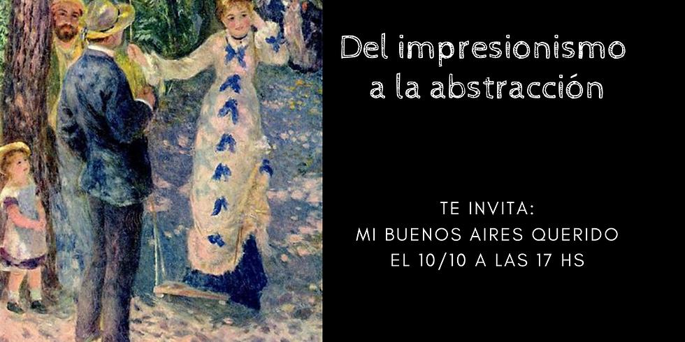 Del impresionismo a la abstracción