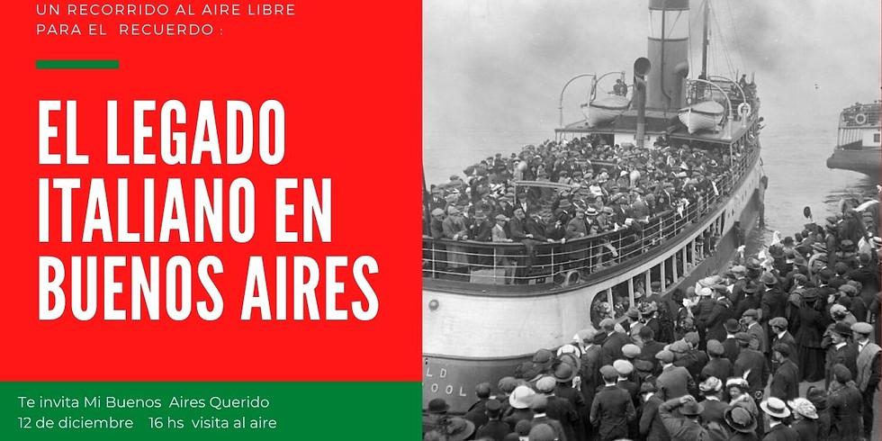 El legado italiano en Buenos Aires visita al aire libre