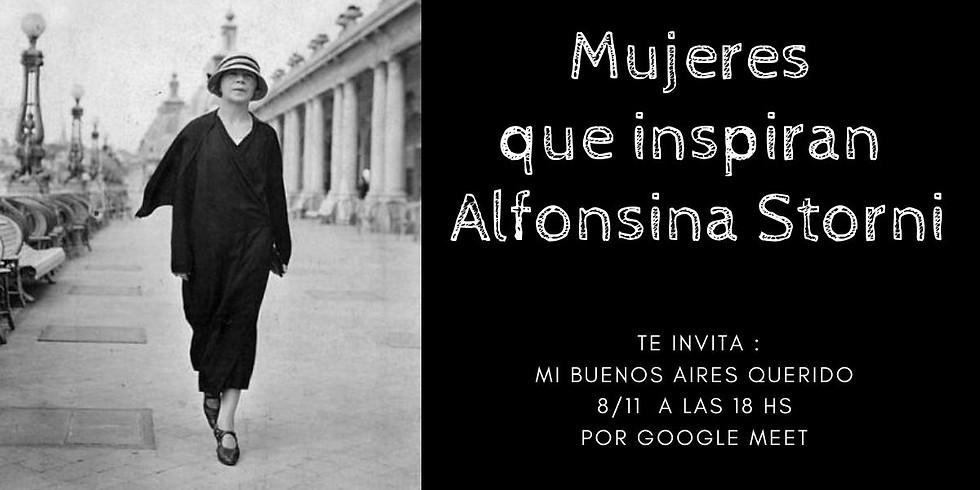 Mujeres que inspiran Alfonsina Storni