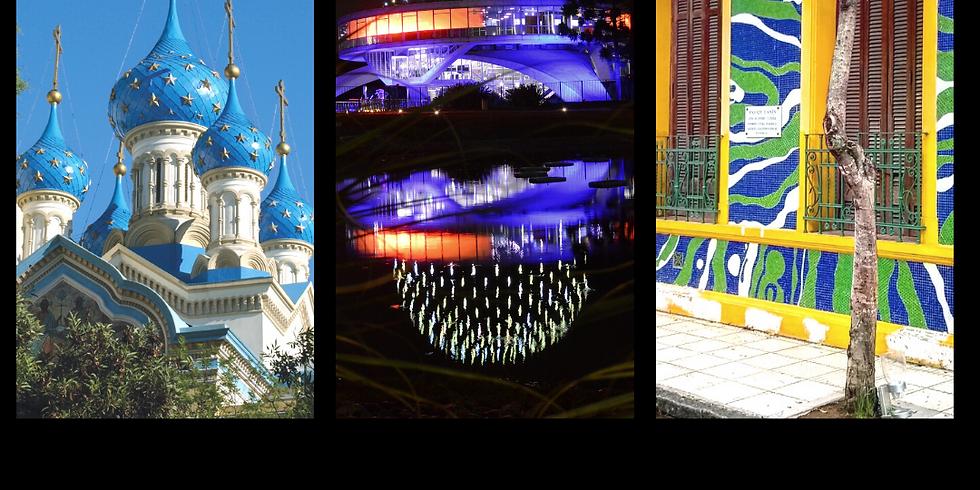 Cúpulas y fachadas destacadas de la ciudad de Buenos Aires