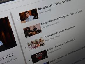 Google volta a pagar compositores brasileiros por clipes no YouTube após acordo com editoras