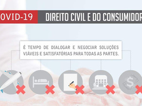 Direito Civil e Consumidor e o CORONAVÍRUS