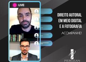 Live Direito autoral: O mundo digital e a fotografia