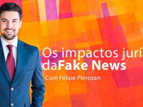 Fake News é o tema do Podcast gravado por Felipe Pierozan no Reexame Necessário