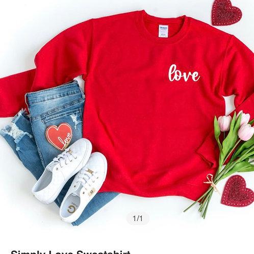 Simply Love Graphic Sweatshirt