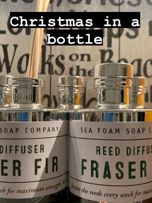 Mercury Glass Round Bottle Reed Diffusers