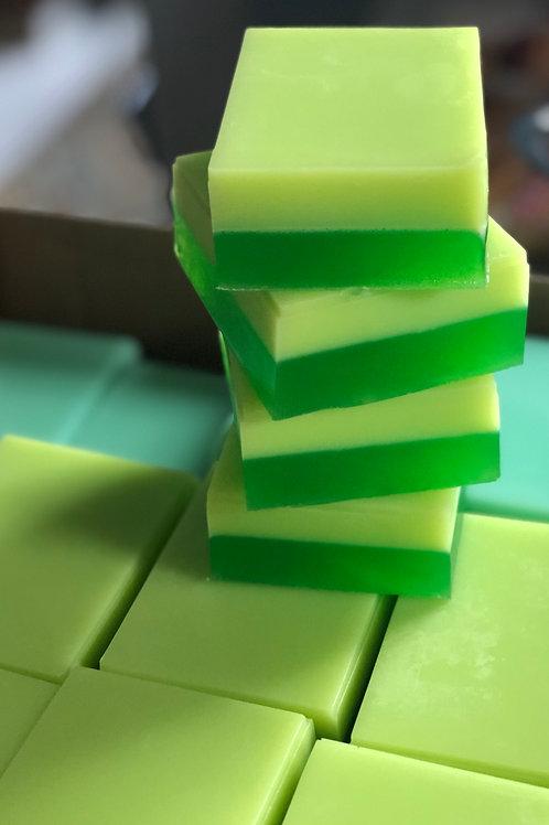 Green Tea and Cucumber Goat Milk & Honey Soap