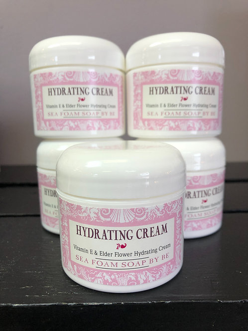 Hydrating Cream with Vitamin E & Elder Flower