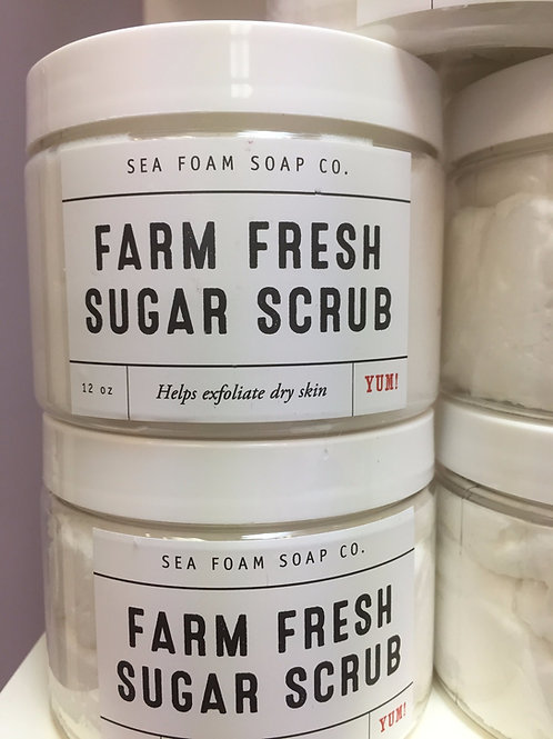 Farm Fresh Organic Sugar Scrub