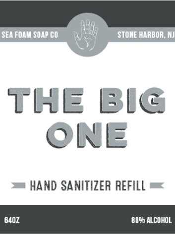The Big One - REFILL 64oz Size