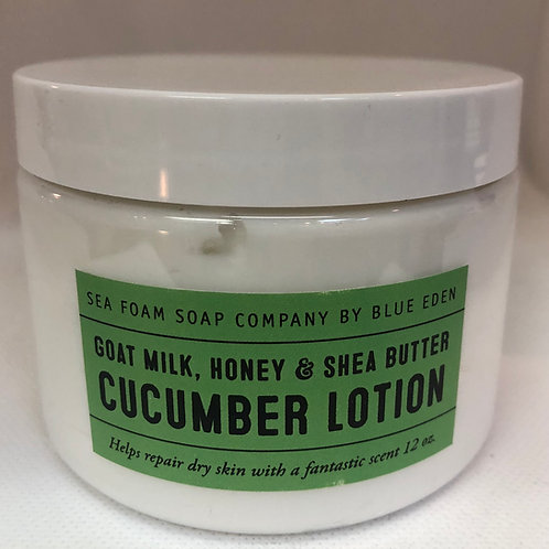 Cucumber Goat Milk, Honey and Shea Butter Lotion