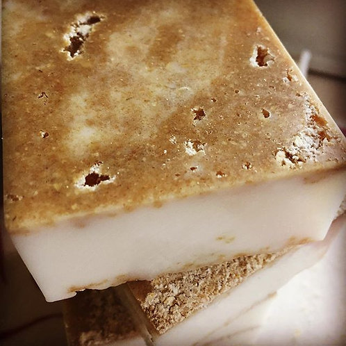 Oatmeal & Maple Sugar Infused Grapefruit Complexion Bar