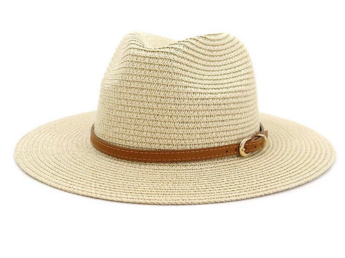 Women's Fedora Straw Hat (color options available