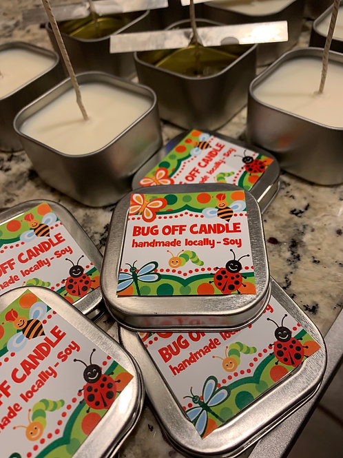Bug Be Gone Soy Candle