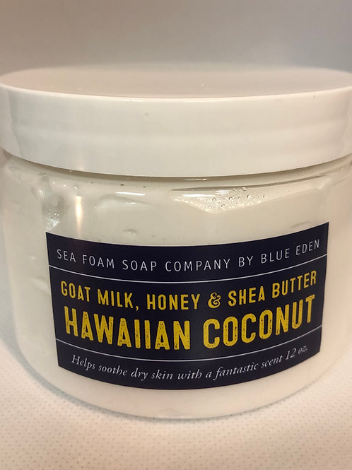 Hawaiian Coconut Goat Milk, Honey & Shea Butter