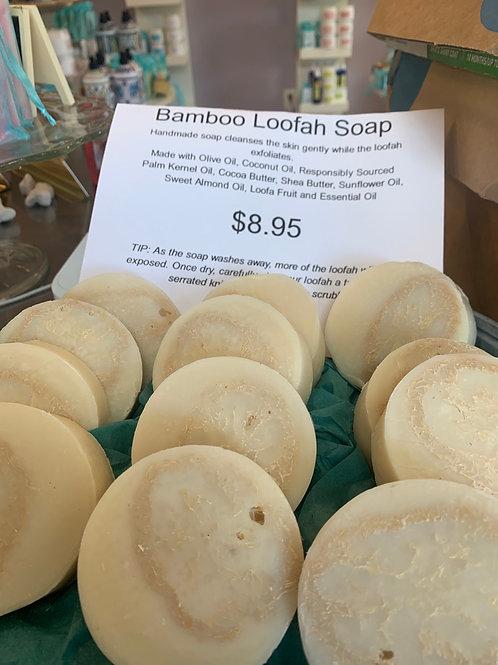 Bamboo Loofah Soap