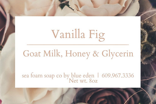 Vanilla Fig Goat Milk & Honey Soap