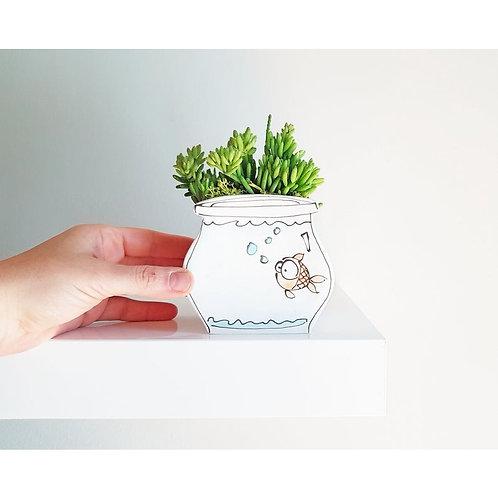Fishbowl -handmade by Julie Richards