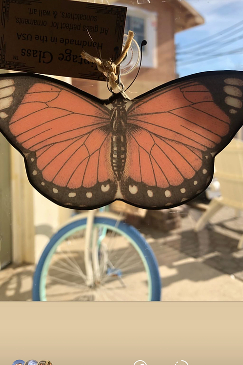 Butterflies are free - Sun Catcher