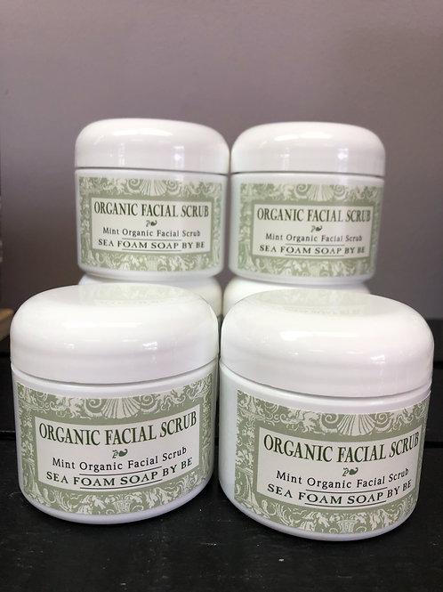 Organic Mint Facial Scrub