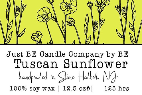Just BE Candle - Tuscan Sunflower 1 wick