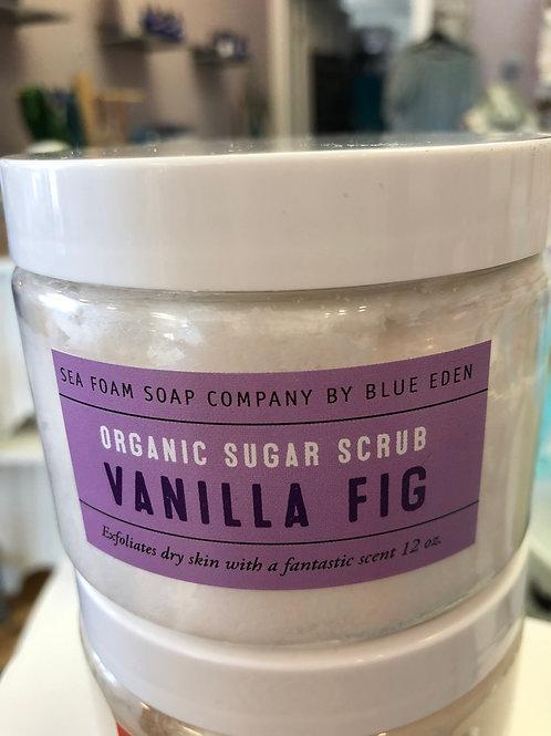 Vanilla Fig Organic Sugar Scrub