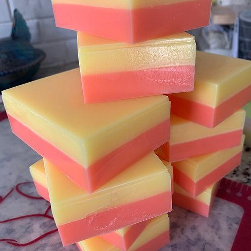 Grapefruit and Lemongrass Goat Milk soap