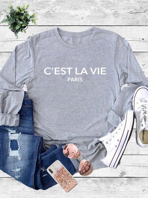 C EST LA VIE Paris ,  Oversized Nightshirt