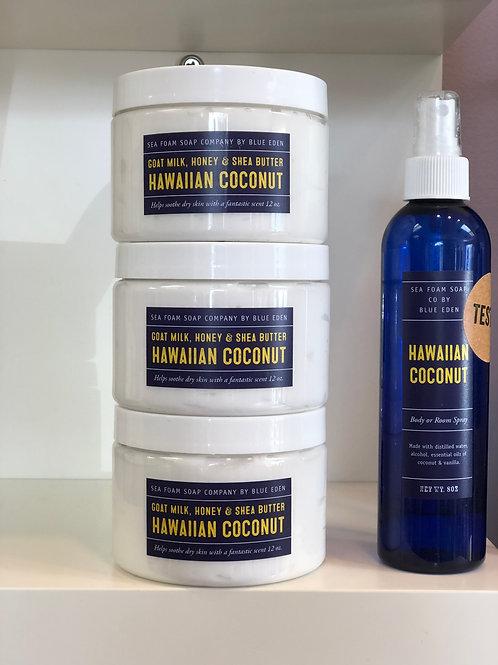 Hawaiian Coconut Organic Sugar Scrub