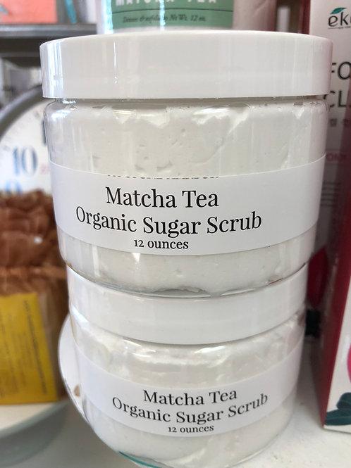 Matcha Organic Sugar Scrub