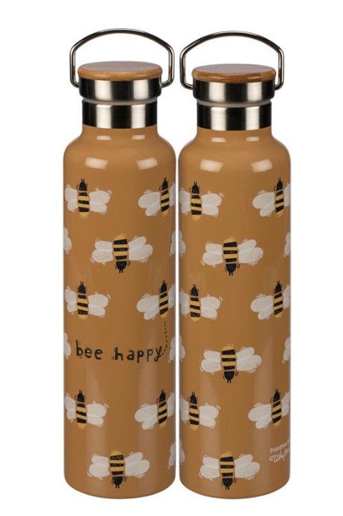 Insulated Bottle Bee Happy