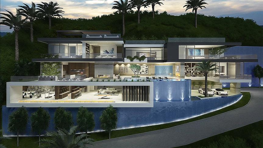 Sunset Plaza Drive - Luxury Construction Loan
