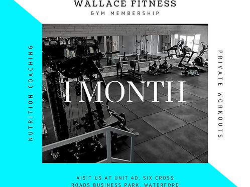 1 Month Pass (Unlimited Sessions)