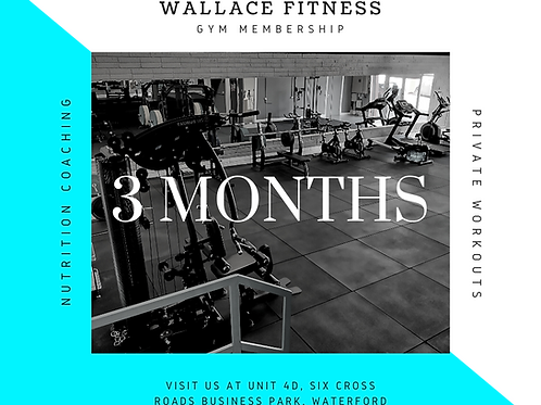 3 Month Pass (Unlimited Sessions)