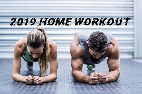2019 Home Workout Program