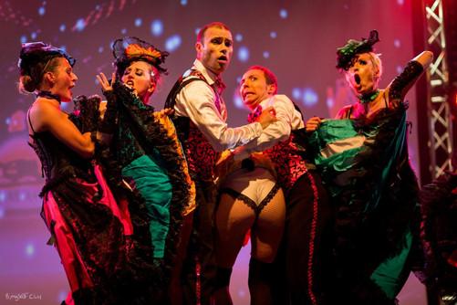 Revue cabaret COUP DE FOUDRE