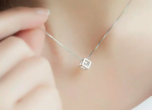 Special Cube Necklace